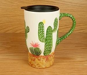 Wayne Cactus Travel Mug