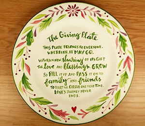 Wayne The Giving Plate
