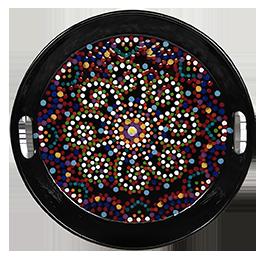 Wayne Mosaic Mandala Tray