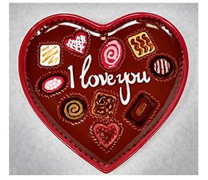 Wayne Valentine's Chocolate