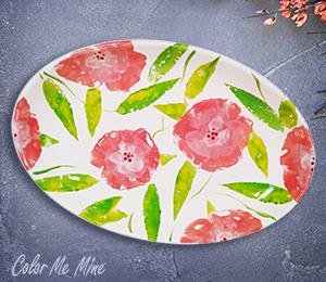 Wayne Floral Paper Stamping