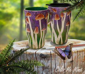 Wayne Mushroom Mugs