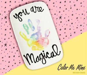 Wayne Rainbow Hand-print