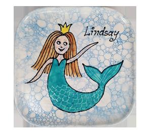Wayne Mermaid Plate