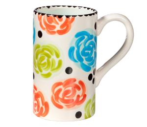 Wayne Simple Floral Mug