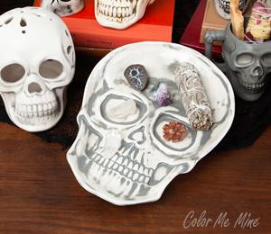 Wayne Vintage Skull Plate