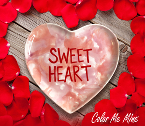 Wayne Candy Heart Plate